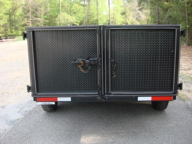 2020 Black C & W Dump Trailer , located at 1330 Rainey Rd., Macon, GA, 31220, (478) 960-1044, 32.845638, -83.778687 - Photo #11