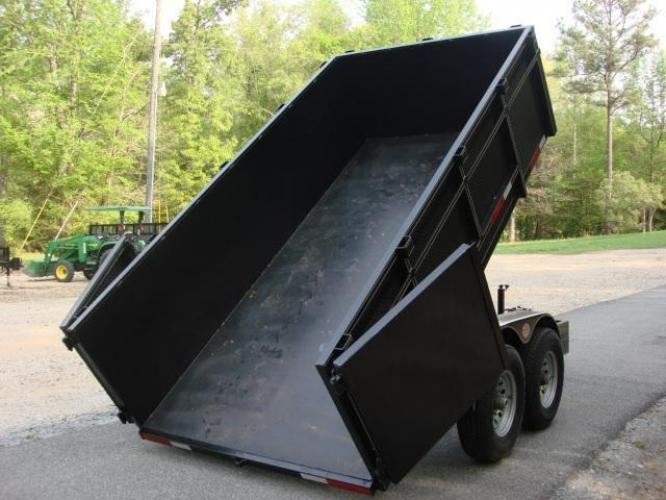 2020 Black C & W Dump Trailer , located at 1330 Rainey Rd., Macon, GA, 31220, (478) 960-1044, 32.845638, -83.778687 - Photo #13