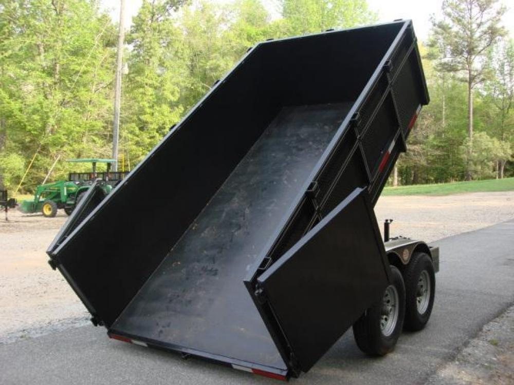 2021 Black C & W Dump Trailer , located at 1330 Rainey Rd., Macon, GA, 31220, (478) 960-1044, 32.845638, -83.778687 - Photo #13