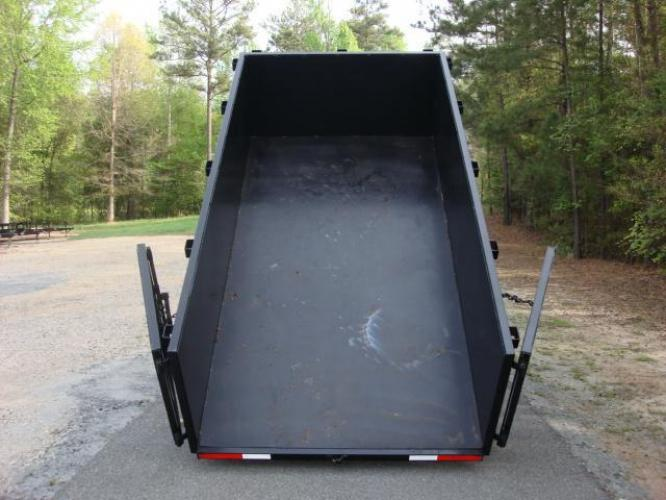 2020 Black C & W Dump Trailer , located at 1330 Rainey Rd., Macon, GA, 31220, (478) 960-1044, 32.845638, -83.778687 - Photo #14