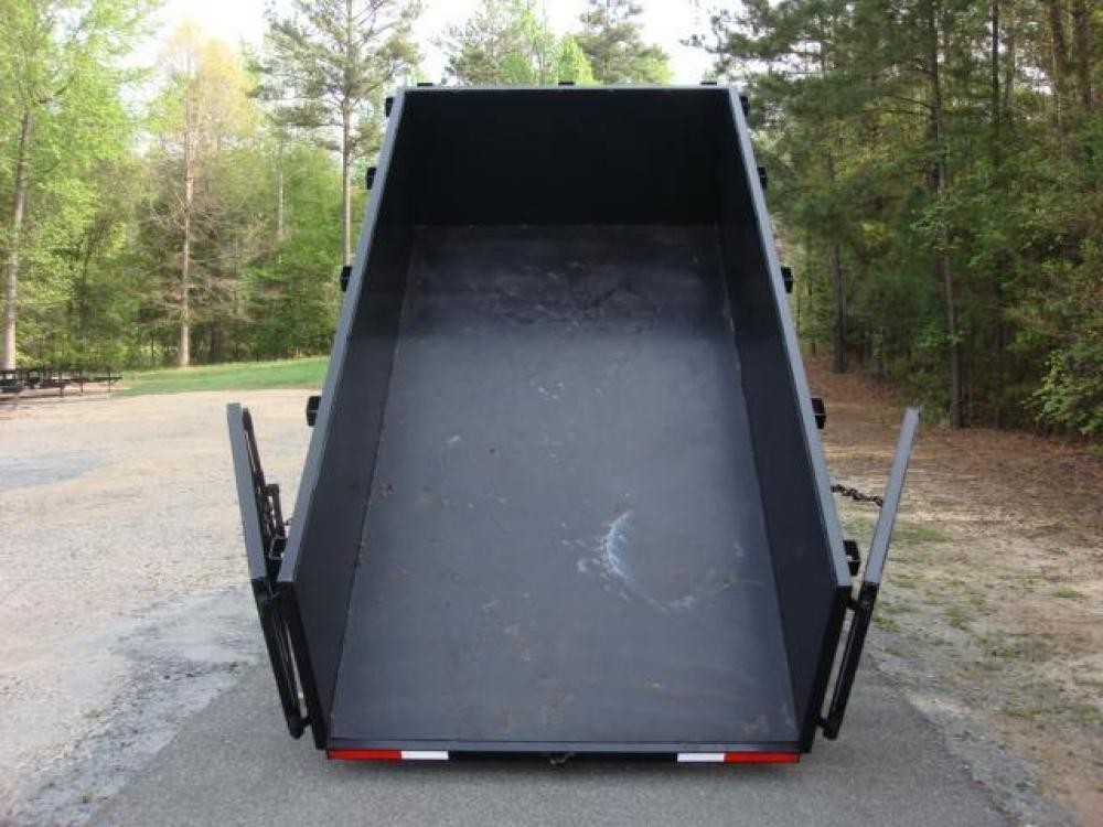 2021 Black C & W Dump Trailer , located at 1330 Rainey Rd., Macon, GA, 31220, (478) 960-1044, 32.845638, -83.778687 - Photo #14