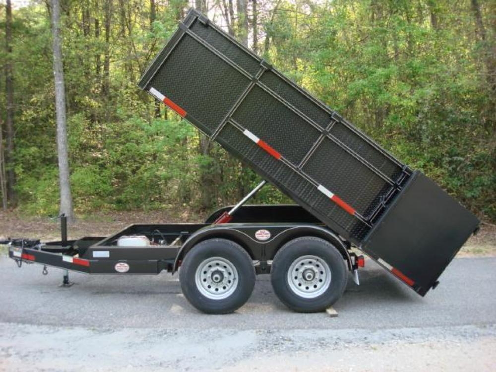 2021 Black C & W Dump Trailer , located at 1330 Rainey Rd., Macon, GA, 31220, (478) 960-1044, 32.845638, -83.778687 - Photo #15