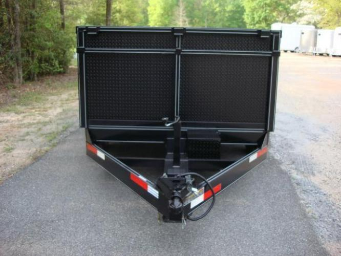 2020 Black C & W Dump Trailer , located at 1330 Rainey Rd., Macon, GA, 31220, (478) 960-1044, 32.845638, -83.778687 - Photo #2