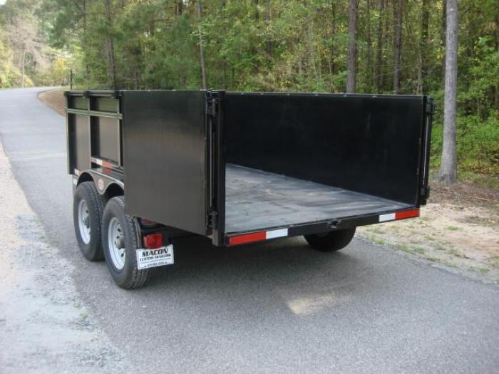 http://www.maconcustomtrailers.com/autos/2019-C-W-Dump-Trailer-Macon-GA-504 - Photo #4