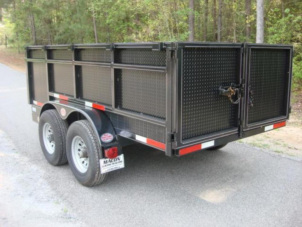 2021 Black C & W Dump Trailer , located at 1330 Rainey Rd., Macon, GA, 31220, (478) 960-1044, 32.845638, -83.778687 - Photo #7
