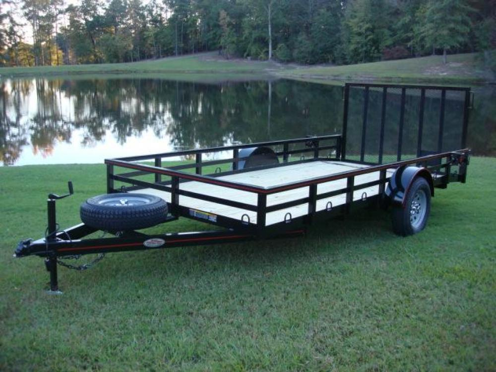 2021 Black Macon Custom Trailers Utility & Landscape , located at 1330 Rainey Rd., Macon, GA, 31220, (478) 960-1044, 32.845638, -83.778687 - Photo #0