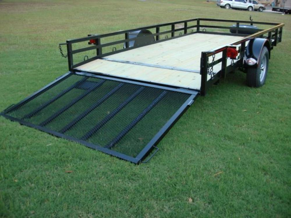 2021 Black Macon Custom Trailers Utility & Landscape , located at 1330 Rainey Rd., Macon, GA, 31220, (478) 960-1044, 32.845638, -83.778687 - Photo #10