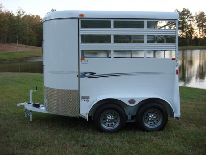 2020 White Bee Trailers 2 Horse Straight Load Wrangler , located at 1330 Rainey Rd., Macon, GA, 31220, (478) 960-1044, 32.845638, -83.778687 - Photo #11