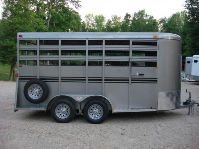2020 Pewter Metallic! Bee Trailers Horse & Livestock , located at 1330 Rainey Rd., Macon, GA, 31220, (478) 960-1044, 32.845638, -83.778687 - Photo #10