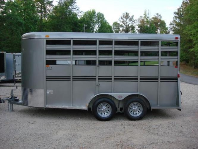 2020 Pewter Metallic! Bee Trailers Horse & Livestock , located at 1330 Rainey Rd., Macon, GA, 31220, (478) 960-1044, 32.845638, -83.778687 - Photo #1