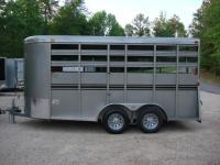 http://www.maconcustomtrailers.com/autos/2019-Bee-Trailers-Horse-Livestock-Macon-GA-724 - Photo #1