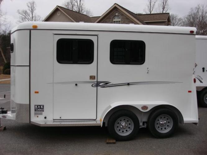 2020 White Bee Trailers 2 Horse Slant Fully Enclosed , located at 1330 Rainey Rd., Macon, GA, 31220, (478) 960-1044, 32.845638, -83.778687 - Photo #28