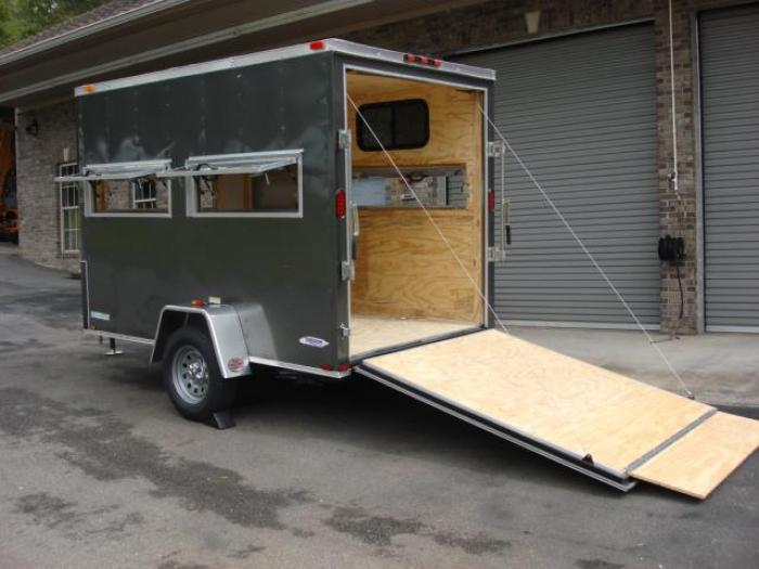 http://www.maconcustomtrailers.com/autos/2019-Freedom-6ft-X-10ft-Hunting-Trailer-Macon-GA-906 - Photo #12