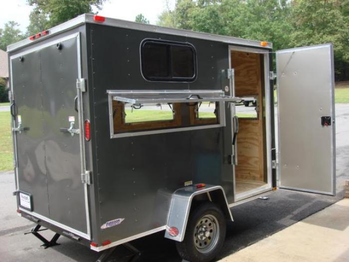http://www.maconcustomtrailers.com/autos/2019-Freedom-6ft-X-10ft-Hunting-Trailer-Macon-GA-906 - Photo #20