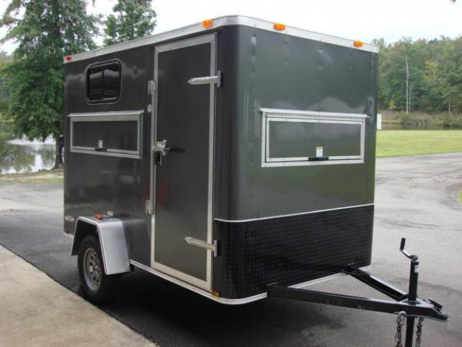 2020 Charcoal Metallic Freedom 6ft X 10ft Hunting Trailer , located at 1330 Rainey Rd., Macon, GA, 31220, (478) 960-1044, 32.845638, -83.778687 - Photo #27