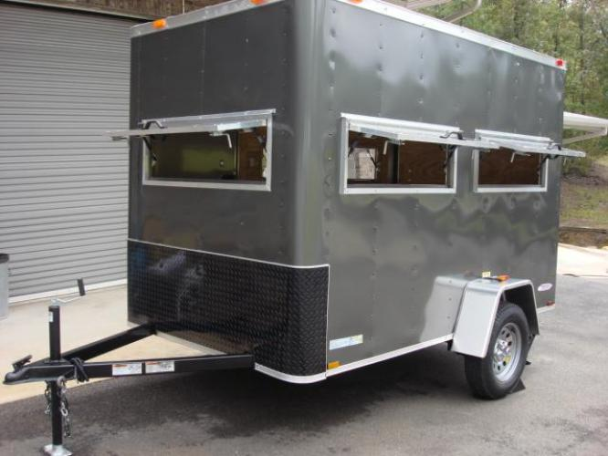 2020 Charcoal Metallic Freedom 6ft X 10ft Hunting Trailer , located at 1330 Rainey Rd., Macon, GA, 31220, (478) 960-1044, 32.845638, -83.778687 - Photo #28