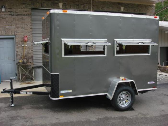http://www.maconcustomtrailers.com/autos/2019-Freedom-6ft-X-10ft-Hunting-Trailer-Macon-GA-906 - Photo #3
