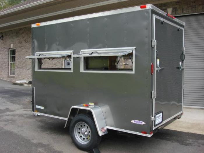http://www.maconcustomtrailers.com/autos/2019-Freedom-6ft-X-10ft-Hunting-Trailer-Macon-GA-906 - Photo #4
