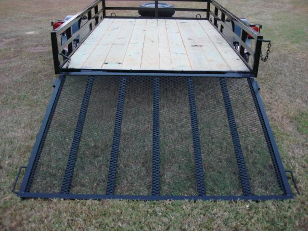 2021 Black Macon Custom Trailers 6ft X 10ft Deluxe , located at 1330 Rainey Rd., Macon, GA, 31220, (478) 960-1044, 32.845638, -83.778687 - Photo #5