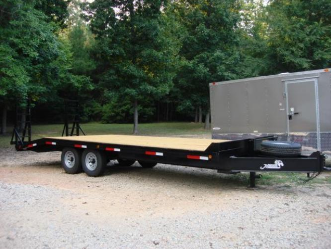 2019 Black Macon Custom Flatbed & Equipment , located at 1330 Rainey Rd., Macon, GA, 31220, (478) 960-1044, 32.845638, -83.778687 - Photo #0