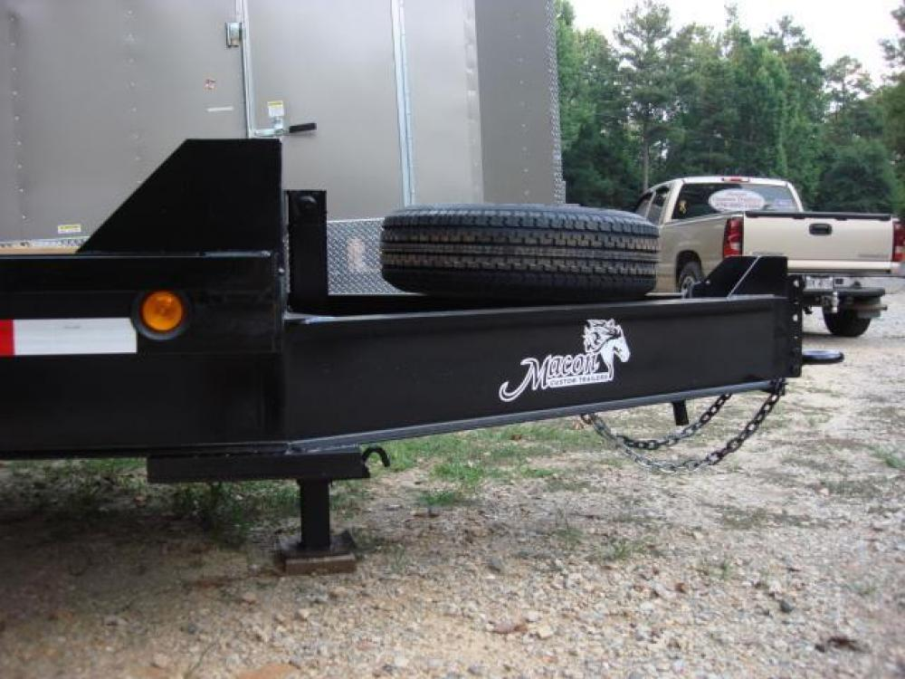 2021 Black Macon Custom Flatbed & Equipment , located at 1330 Rainey Rd., Macon, GA, 31220, (478) 960-1044, 32.845638, -83.778687 - Photo #10