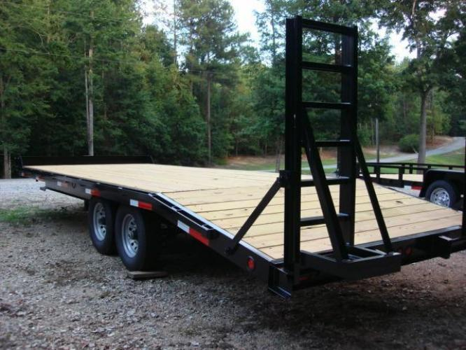 2019 Black Macon Custom Flatbed & Equipment , located at 1330 Rainey Rd., Macon, GA, 31220, (478) 960-1044, 32.845638, -83.778687 - Photo #6