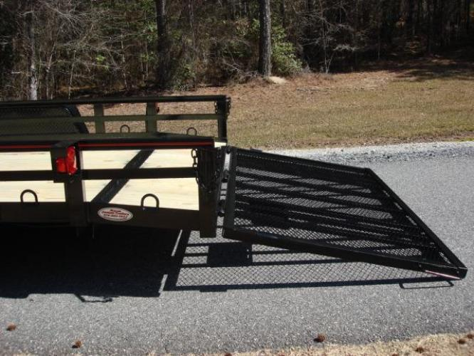2020 Black Macon Custom Trailers Utility & Landscape , located at 1330 Rainey Rd., Macon, GA, 31220, (478) 960-1044, 32.845638, -83.778687 - Photo #11