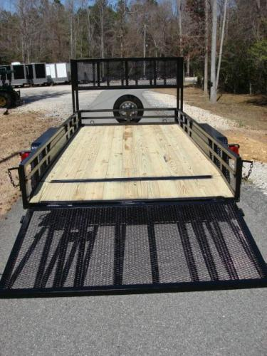 2020 Black Macon Custom Trailers Utility & Landscape , located at 1330 Rainey Rd., Macon, GA, 31220, (478) 960-1044, 32.845638, -83.778687 - Photo #14