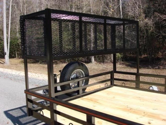 2020 Black Macon Custom Trailers Utility & Landscape , located at 1330 Rainey Rd., Macon, GA, 31220, (478) 960-1044, 32.845638, -83.778687 - Photo #15