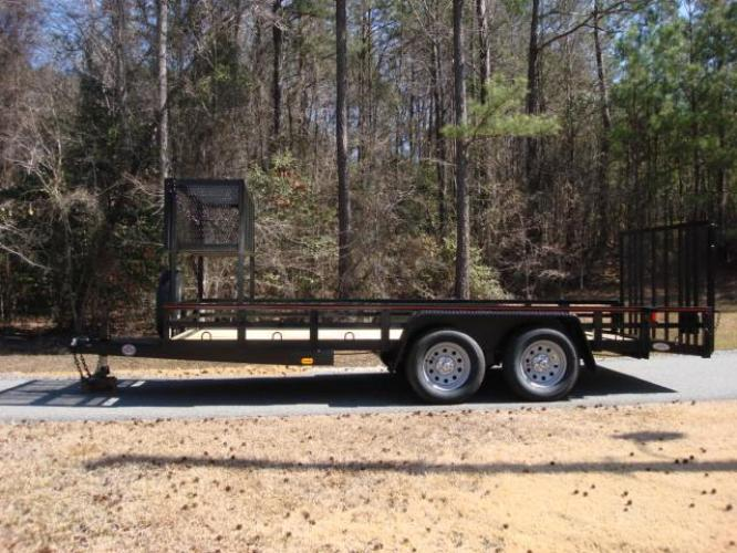 2020 Black Macon Custom Trailers Utility & Landscape , located at 1330 Rainey Rd., Macon, GA, 31220, (478) 960-1044, 32.845638, -83.778687 - Photo #17